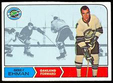 1968 69 TOPPS HOCKEY #84 GERRY EHMAN EX-NM OAKLAND CALIFORNIA GOLDEN SEALS