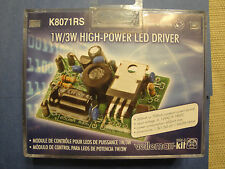 1W/3W High-Power LED Driver K8071RS By Velleman