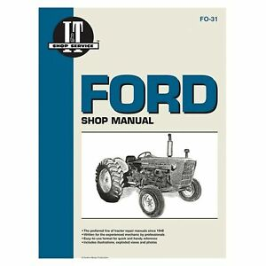 Service Manual Ford Tractor FO-31 2000,2110,3000,4000,4100,4140,4200