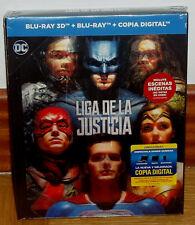 LIGA DE LA JUSTICIA DIGIBOOK BLU-RAY 3D+BLU-RAY+LIBRO PRECINTADO (SIN ABRIR) R2