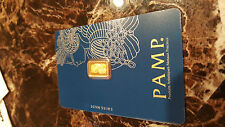 1 gram Gold Bar - PAMP Suisse - Fortuna - 999.9 Fine in Assay -Awesome bar