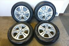 """SET OF FORD GALAXY / S-MAX ZETEC 16"""" ALLOY WHEELS WITH 2156016 TYRES"""