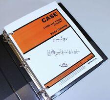 Case 1150E 1155E Crawler Tractor Dozer Parts Manual Catalog Exploded Views