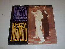 "BARRY MANILOW / KID CREOLE - Hey Mambo - Scarce 1987 USA 2-track 7"" Vinyl Single"