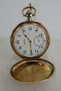 Savonette Herrentaschenuhr Alpina Chronometre 454 um 1925 (69162)
