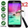 2-Pack 9H Tempered Glass Film Screen Protector For LG K4 K8 K10 G3 G4 G5 V10