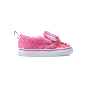 Vans Kids Baby Girl's Slip-On V Toddler Sneakers