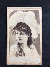 Victorian Carte De Visite CDV Actress Mary Anderson