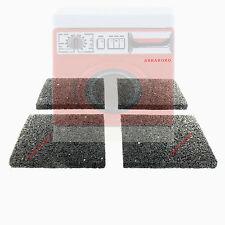 Set: 4 x Antirutschmatte Pads 10x10x1 cm Gummipads Waschmaschine Unterlage