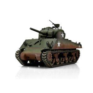 2.4Ghz 1/16 U.S Sherman M4A3 75mm Metal Edition Airsoft Battle Tank R/C Taigen