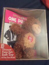 One Direction 1D Ultimate Fans Set Teddy Book Limited Edition Gift Set New Boxed