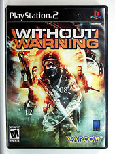 Without Warning (PS2) Game & Cover Art - Clean,Tested & Fast Shipping