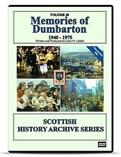 DVD Memories of Dumbarton 1940-1975 Scottish archive history movie film