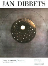 JAN DIBBETS - Ausstellungsplakat Espai Poblenou Barcelona 1990 - Farboffsetdruck