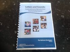Letters and sounds phase one printed booklet ks1 EYSF SEN phonics teaching