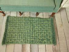 Wunderschöner Miniatur-ROSEN-TEPPICH,25x19,7cm,Puppenstube1:10,1:12,1:18,1:6