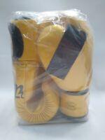 "16oz Fairtex ""FALCON"" Muay Thai Style Training Gloves MMA Boxing Yellow"