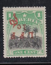 Liberia # M6c MNH Inverted LFF 1 C Variety 1916 Military