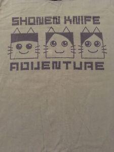 Shonen Knife T-shirt 2016 tour