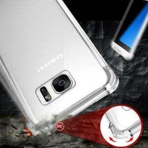 New 360° CLEAR TPU Shockproof Case Full Protector Cover For Samsung Galaxy S9