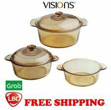 Visions corningware casserole dutch oven 5pcs set made in France X pyrex corelle