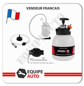 PURGEUR DE FREIN AUTOMATIQUE PURGE CIRCUIT DE FREINAGE EMBRAYAGE 3L + Bouteille