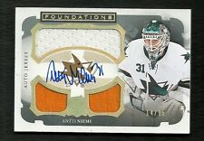 2013-14 The Cup ANTTI NIEMI Foundations Jersey Serial #14 of 15 Autograph