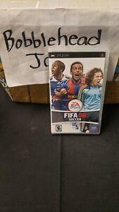 CIB FIFA 08 PSP SONY PLAYSTATION PORTABLE VIDEO GAME SOCCER MLS FMF EA SPORTS
