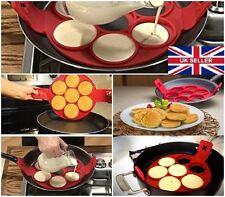 UK Seller Non Stick Pancake Pan Flip Breakfast Maker Egg Omelette Flip Tool