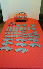 Lot of Thomas The Train Chuggington Track Red Wilson Carrying Case Gullane Toy