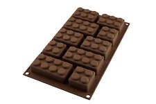 SILIKOMART stampo in silicone per Cioccolatini Tavolette forma di Mattoncini