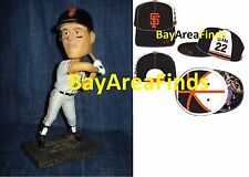 San Francisco Giants WIll Clark 2017 Jersey Cap & Bobblehead SGA hat