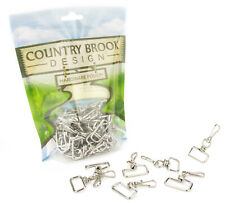 50 - Country Brook Design® 1 Inch Swivel Square Top Lanyard Hooks