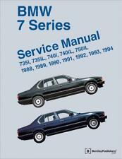 BMW 7 SERIES E32 735 740 750 i iL 735i 740i Owners Repair Manual Handbook Book