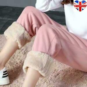 Winter Women's Thermal Fleece Lined Stretchy Leggings Pants Warm Thick Trousers
