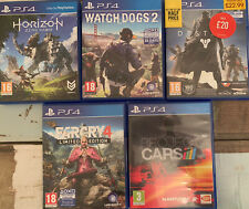 Ps4 Games Bundle Far Cry Watch Dogs Horizon Destiny Project Cars