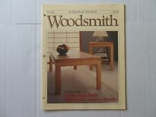 Woodsmith April 1992 No. 80 Coffee & End Table, High Back Country Bench