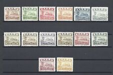 NAURU 1924-28 SG 26B/39B USED Cat £225