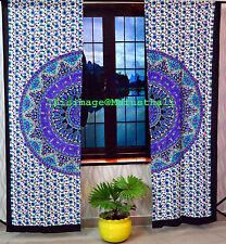Cortinas de Paisley Tapicería de India Cortinas de puerta colgantes de pared