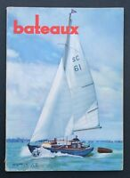 Revue magazine BATEAUX n° 42 novembre 1961 Golfe du Morbihan Fastnet
