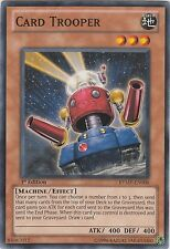 ♦Yu-Gi-Oh!♦ Soldat de Carte/Card Trooper : LCGX/SDWS/... x3 : -ANGLAISE/COMMUNE-