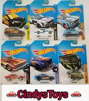 2017 HOT WHEELS N CASE MIX - PLUS TREASURE HUNT FORD TRANSIT CONNECT