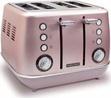 MORPHY RICHARDS Evoke Special Edition 4-Slice Toaster - Rose Quartz - Currys