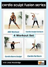 Cardio Toning DVD - Barlates Body Blitz CARDIO SCULPT FUSION SERIES - 4 Workouts