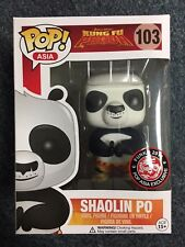 Funko Pop Asia Exclusive Kung Fu Panda Shaolin Po #103 Mint Condition