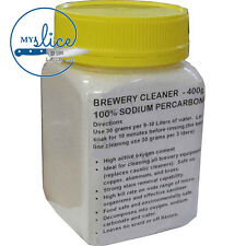 Sodium Percarbonate 400g - Home Brew / All Grain / Wine / Grainfather / Keg