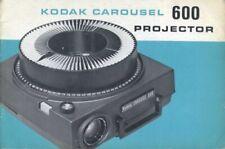 Kodak Carousel 600 Projector Instruction Manual