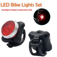 USB ricaricabile LED della bici luci 2 pezzi Set faro e f posteriore a LED per b