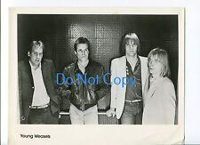 Young Weasels Nueva Ola Punk Banda Original Press PROMOCIONAL FOTO