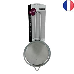 10X Tamis de Cuisine Métal 13,5 cm Farine Thé Huile Sucre Passoire Maille Filtre